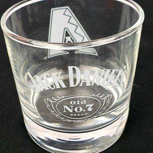 Jack Daniels Glass Tumblers Set of 4